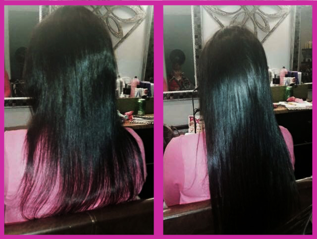 Before And After Photos Of Hair Extension Application